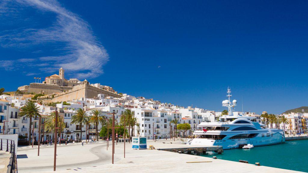 Ibiza Town View