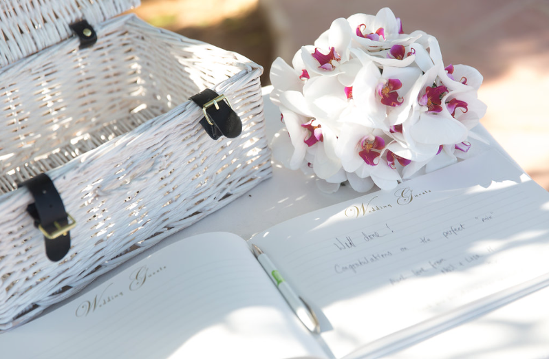 Basket And Guestbook