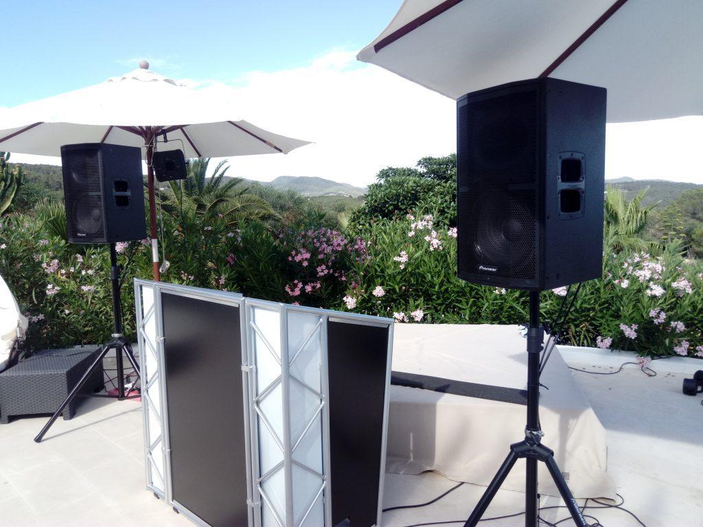 Full Sound System (DJ Booth)