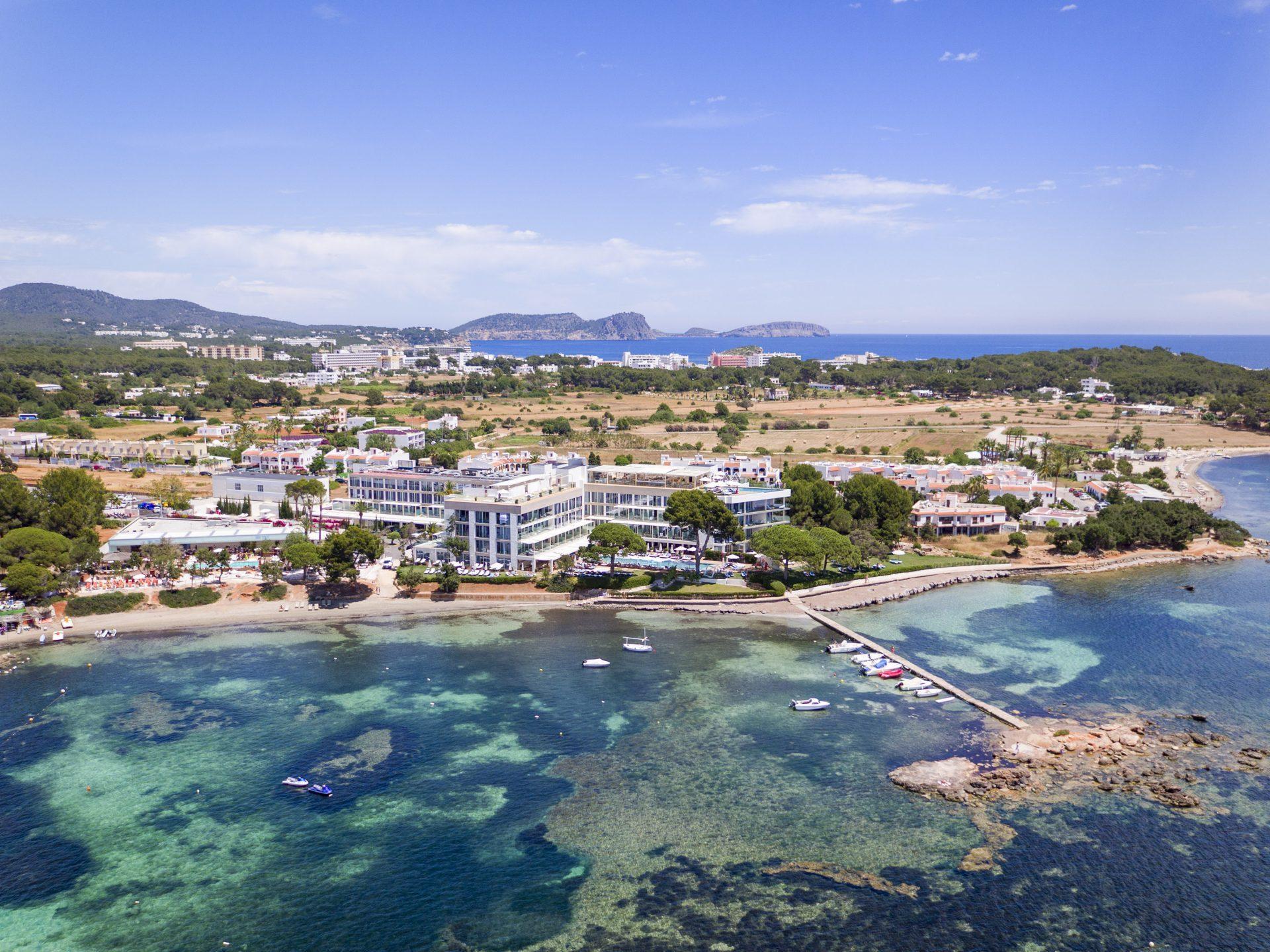 001ME Ibiza General Aerial