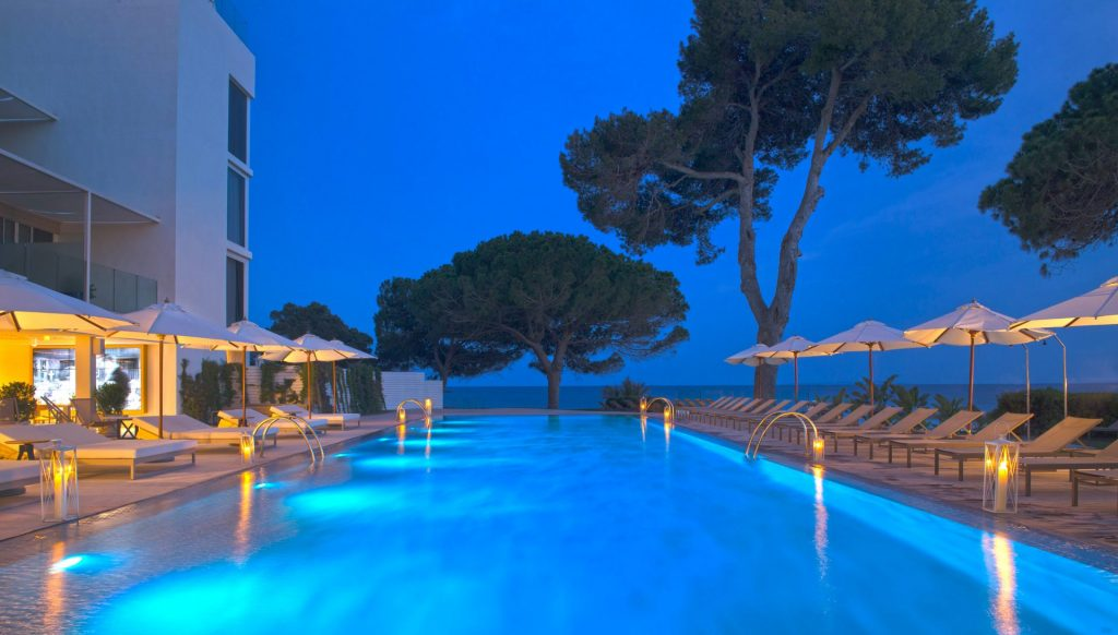 305ME Ibiza Pool Night