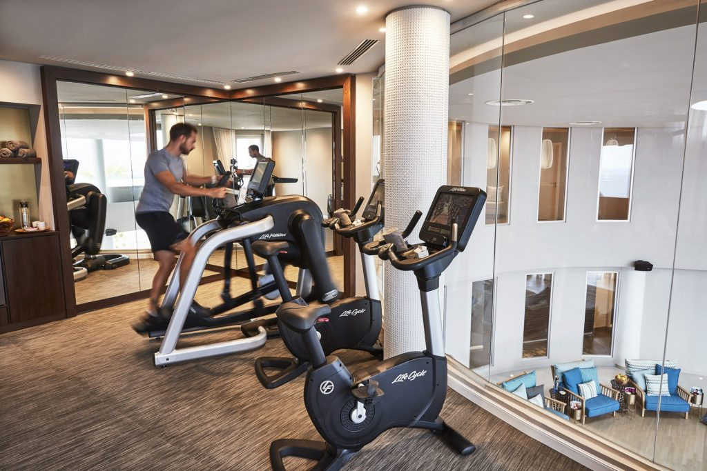 7P Pure Seven 6 Fitness Room